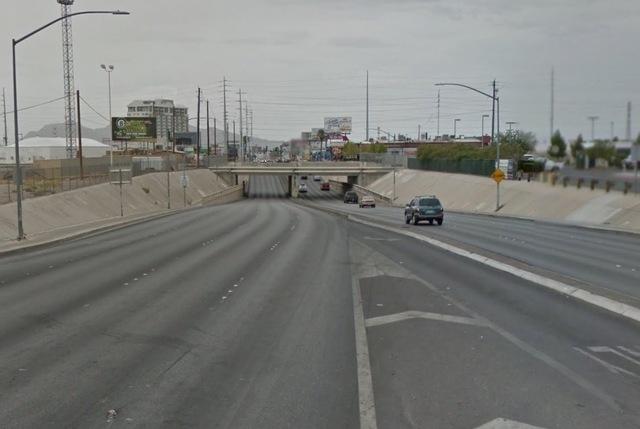 Charleston Boulevard near Grand Central Parkway (Google Maps)