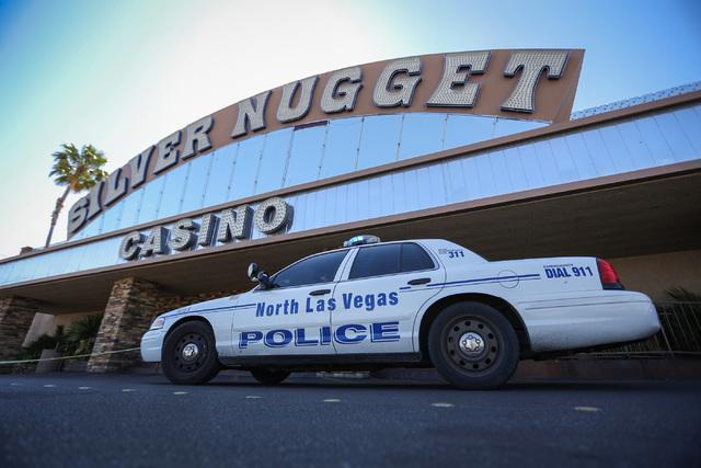 The Silver Nugget Casino in North Las Vegas (Brett Le Blanc/Las Vegas Review-Journal)