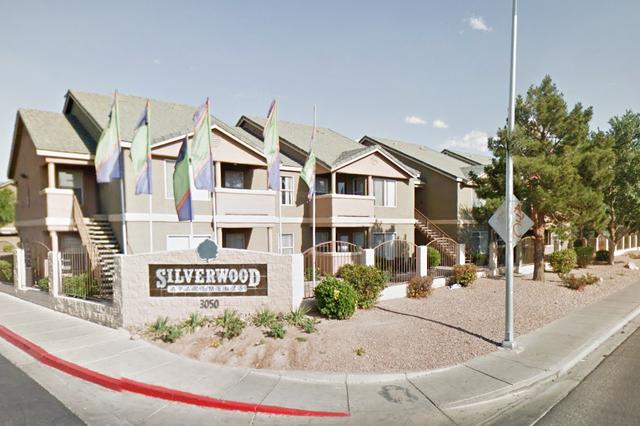 Silverwood Apartments at 3050 Nellis Blvd. (Google Street View)