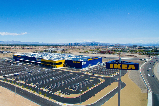 Las Vegas' new Ikea store is pictured in the contributed photo from the company. (Courtesy IKEA)