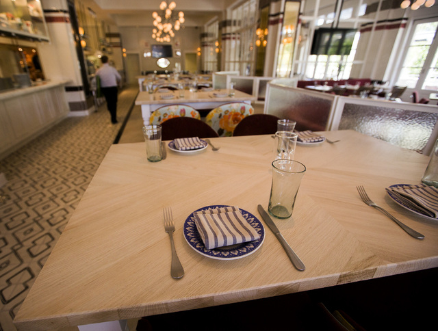 The interior of the new Bottiglia Restorante and Enoteca at Green Valley Ranch is seen Thursday, May 12, 2016. The resort is undertaking a multimillion dollar reinvestment in upgrades. Jeff Scheid ...