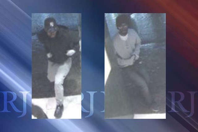 The FBI is offering a reward for the identification, arrest and conviction of five men involved in an armed robbery of a jewelry store at the Caesars Palace Forum Shops on the Las Vegas Strip on M ...