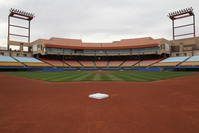 Cashman Field in las Vegas is seen on Wednesday, Dec. 24, 2014. (Erik Verduzco/Las Vegas Review-Journal)