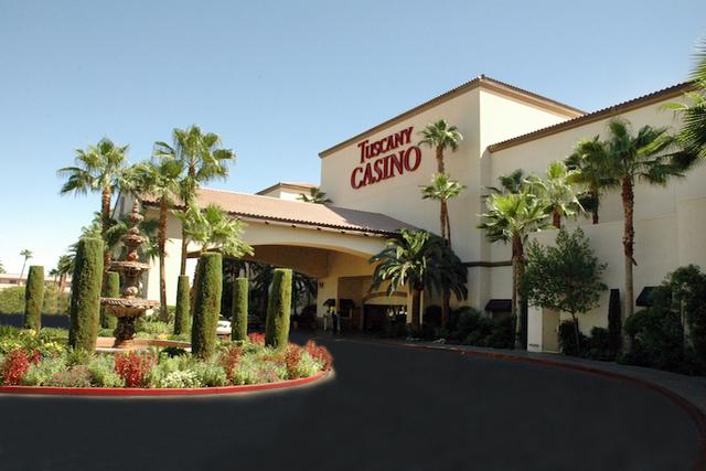 The exterior of Tuscany Suites & Hotel, 255 E. Flamingo Road. (Courtesy Tuscany Suites & Casino Las Vegas)