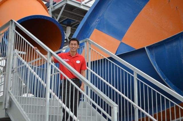 Takuya Ohki moved to Las Vegas in 2012 to open Wet'n'Wild Las Vegas, 7055 S. Fort Apache Road. Ginger Meurer/Special to View