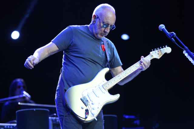 Pete Townshend of The Who performs at the Colosseum in Caesars Palace on Sunday, May 29, 2016 in Las Vegas. Brett Le Blanc/Las Vegas Review-Journal Follow @bleblancphoto