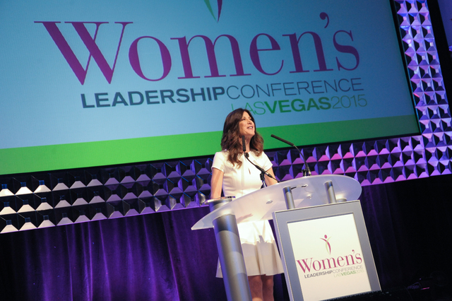 CNN anchor Natalie Allen speaks at the ninth annual Women's Leadership Conference, which was held on July 13 and 14, 2015. Allen is returning as a speaking for the 10th annual conference on Aug. ...
