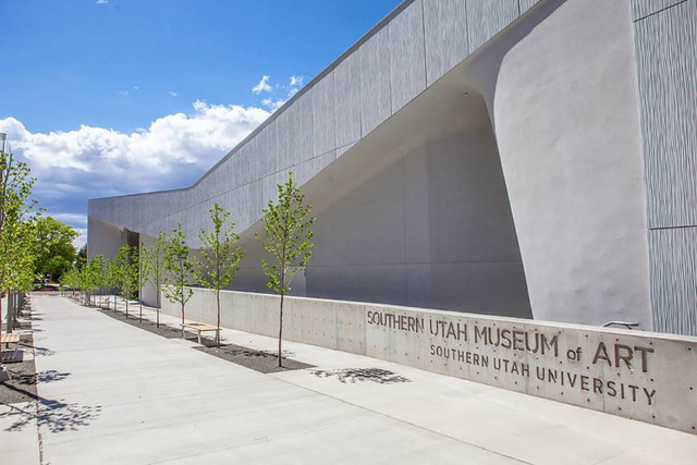 The new Southern Utah Museum of Art, part of the Beverley Taylor Sorenson Center for the Arts in Cedar City, opens July 7. (SOUTHERN UTAH UNIVERSITY)