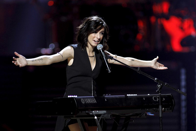Macy's iHeartRadio Rising Star Christina Grimmie performs during the 2015 iHeartRadio Music Festival at the MGM Grand Garden Arena in Las Vegas, Nevada September 18, 2015. (Steve Marcus/Reuters)