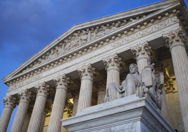 U.S. Supreme Court building in Washington, D.C. (Jon Elswick/AP)