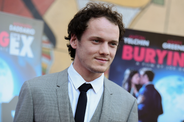 "In this June 11, 2015, file photo, Anton Yelchin arrives at a special screening of ""Burying the Ex"" held at Grauman's Egyptian Theatre in Los Angeles. Yelchin, a charismatic and rising actor best  ..."