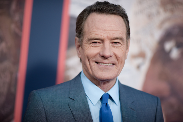 """Bryan Cranston attends the LA Premiere of """"All The Way"""" held at Paramount Pictures Studios in Los Angeles, May 10, 2016. Cranston announced on Twitter June 21, 2016, that he'll play Zordon in an u ..."""