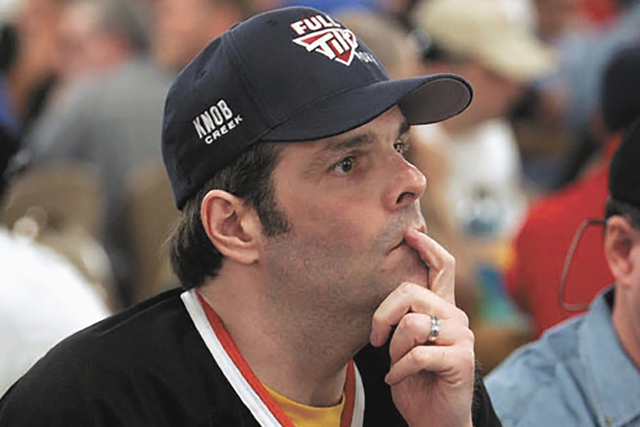 Howard Lederer, shown in 2005, returned to the World Series of Poker for the first time since 2010 when he registered for the $10,000 buy-in 2-7 Draw Lowball Championship Saturday night at the Rio ...