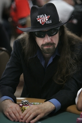 """Chris """"Jesus"""" Ferguson made his first appearance at the World Series of Poker since 2010 when the five-time bracelet winner entered the $10,000 buy-in Seven-Card Stud Championship late Saturday at ..."""