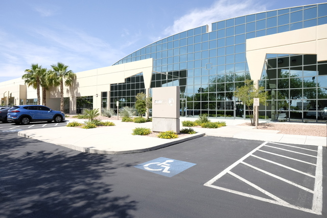 North American Video recently signed a lease at 731 E. Pilot Road in Hughes Airport Center. Ulf Buchholz/Las Vegas Business Press.