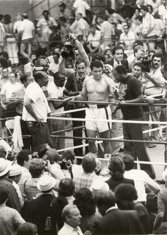 Undated photo of Muhammad Ali. (Scott Henry/Las Vegas Review-Journal)