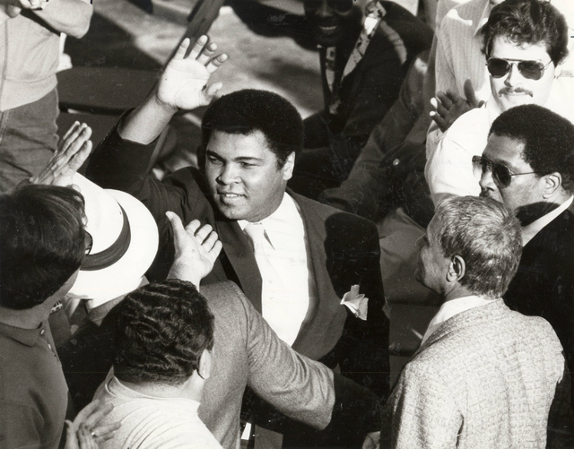 Muhammad Ali on March 3, 1984. (Las Vegas Review-Journal File)