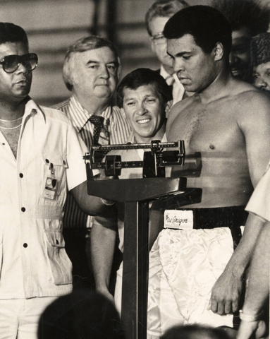 Muhammad Ali (Wayne Kodey/Las Vegas Review-Journal)