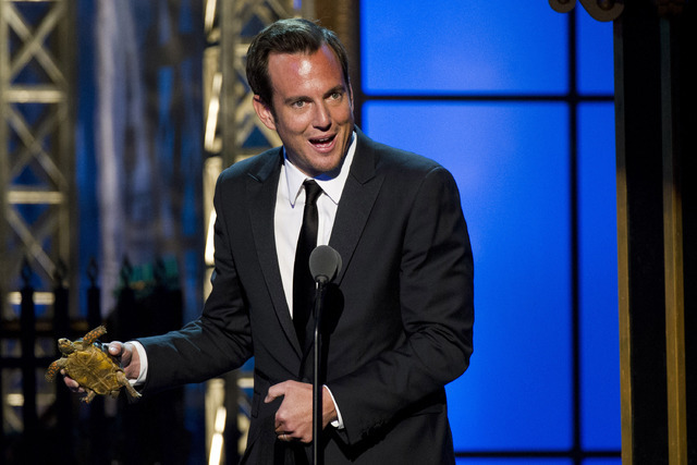 Will Arnett appears onstage at The 2012 Comedy Awards in New York, Saturday, April 28, 2012. (AP Photo/Charles Sykes)