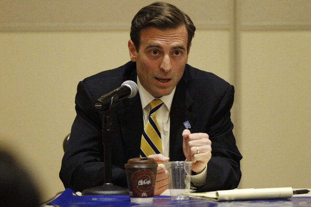 Nevada Attorney General Adam Laxalt (Erik Verduzco/Las Vegas Review-Journal)