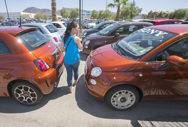 U S Auto Sales Show Signs Of Flattening Out Las Vegas
