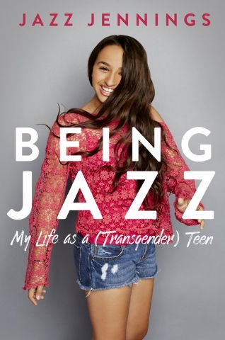 "Jazz Jennings shares her story in ""Being Jazz: My Life as a (Transgender) Teen."" Special to View"