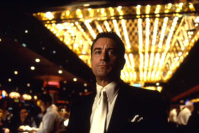 """Actor Robert De Niro appears in the 1995 movie """"Casino."""""""