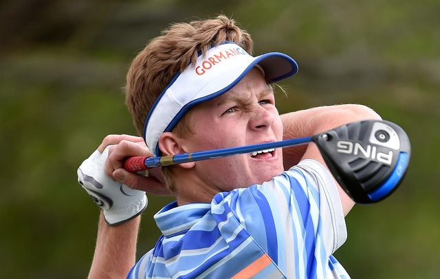 Christian James, Bishop Gorman: The senior shot 6-over 150 to finish in a tie for eighth in the Division I state tournament. He tied for eighth in the Sunset Region tournament.