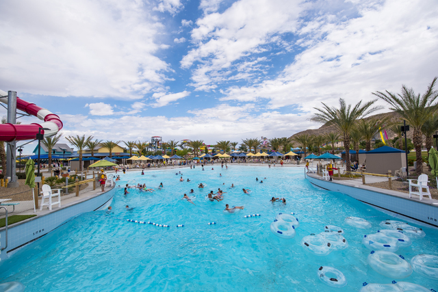 "Dive-in Movies are set to kick off June 3 at Wet'n'Wild Las Vegas, with a screening of the Pixar animated feature ""Inside Out."" View file photo"