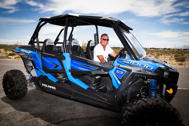TONYA HARVEY/REAL ESTATE MILLIONS John Morris, co-owner of Spring Mountain Motor Resort & Country Club, is building a housing division near the race track so homeowners can enjoy their vehicles.