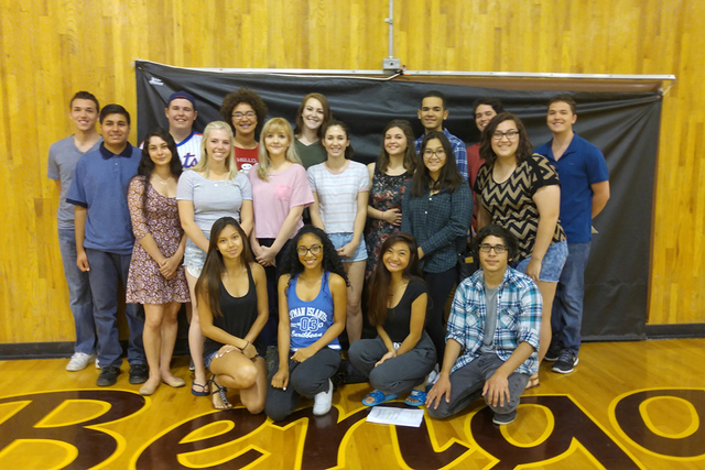 Twenty-three students from CSN High received their associate's degrees one month before they receive their high school diplomas. The students were enrolled in college courses while completing thei ...