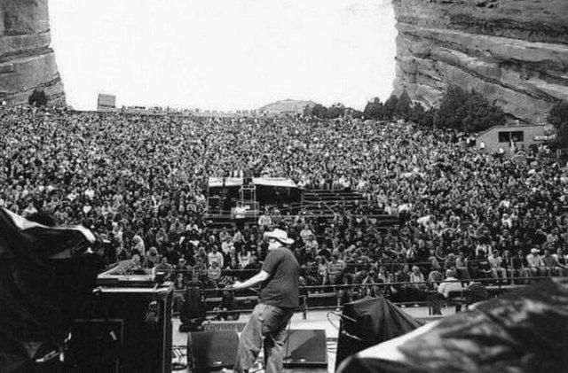 Danny Vegas performs at Red Rocks Amphitheatre in Colorado. (Courtesy)