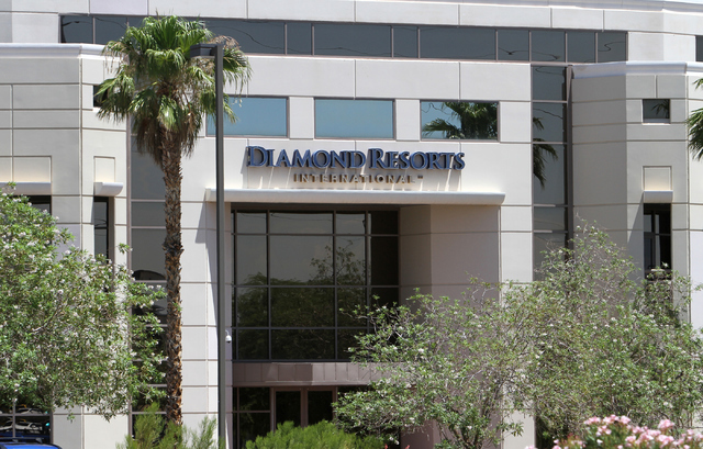 Diamond Resorts International located at 10600 W. Charleston Blvd. is seen in Las Vegas on Wednesday, June 29, 2016. Richard Brian/Las Vegas Review-Journal