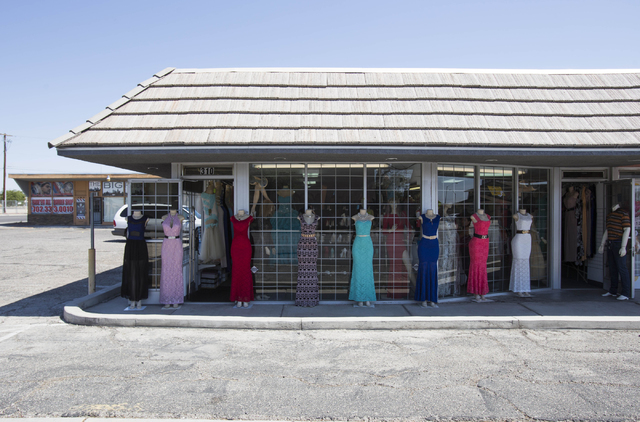 Mannequins are seen on display at Mileidys Fashion located at 3402 East Lake Mead Blvd. in North Las Vegas on Thursday, June 23, 2016. (Richard Brian/Las Vegas Review-Journal)