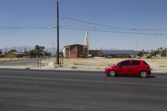 Holy Trinity AME Church near Lake Mead Boulevard and Las Vegas Boulevard is seen on Saturday, June 25, 2016, in North Las Vegas. Erik Verduzco/Las Vegas Review-Journal Follow @Erik_Verduzco