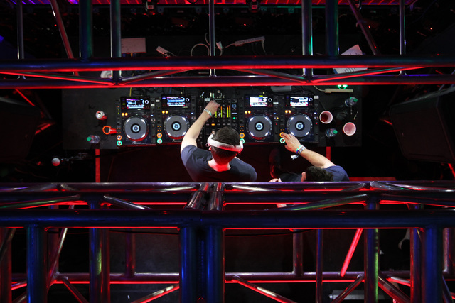 DJ's Prok & Fitch perform during the first night of the Electric Daisy Carnival Saturday, June 20, 2015, at the Las Vegas Motor Speedway.  (Sam Morris/Las Vegas Review-Journal) Follow Sam Morr ...