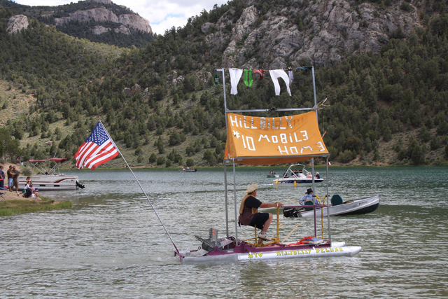 Cocktails and Cannons, the Great Bathtub Races, takes place at the 32-acre reservoir at Cave Lake State Park 14 miles south of Ely on June 25, followed by a beach party with a barbecue and firewor ...