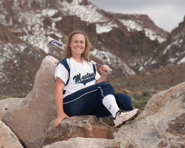 IF Emma Covert, Damonte Ranch: The junior infielder hit .505 with five homers, 15 doubles, 34 runs and 39 RBIs for the Mustangs.