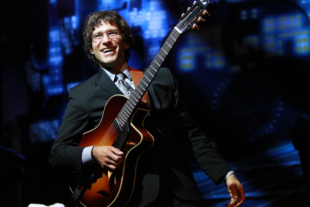 Frank Vignola of The Frank Vignola Trio is one of the groups scheduled to perform at the fifth annual DjangoVegas! Gypsy Jazz Festival at 6 p.m. June 18 at the Historic Fifth Street School, 401 S. ...