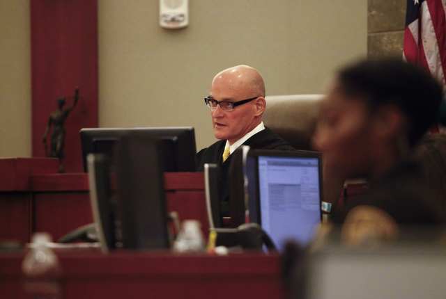 Judge Rob Bare rules to release Daniel Fernandez on his own recognizance Wednesday, June 15, 2016, pending an appeal of his sentence after his attorney, Deputy Public Defender, Zohra Bakhtary was  ...