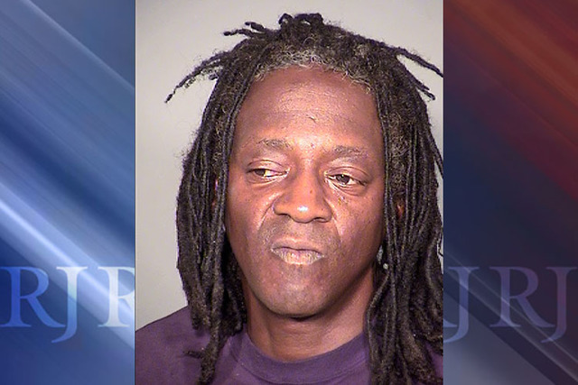 This May 21, 2015 booking photo provided by the Clark County Detention Center shows William Drayton Jr. aka Flavor Flav after his arrest in Las Vegas. (Clark County Detention Center via AP,File)