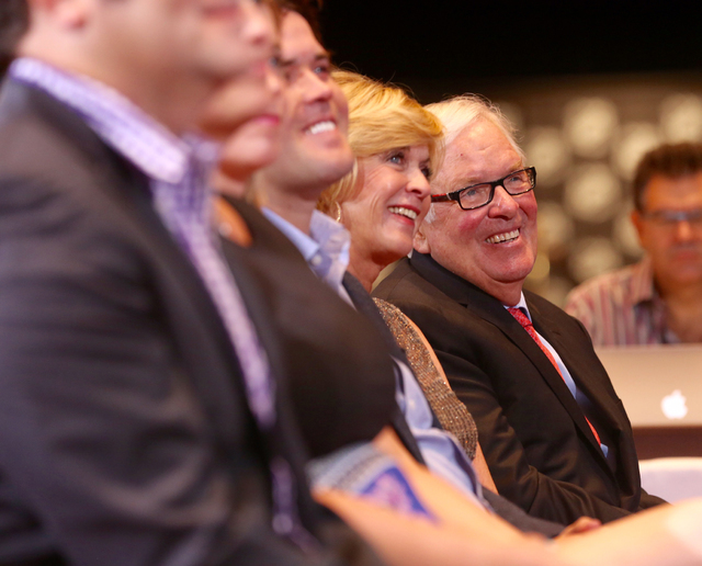Las Vegas businessman Bill Foley is seen at the NHL press conference on June 22, 2016. (Jeff Scheid/Las Vegas Review-Journal)