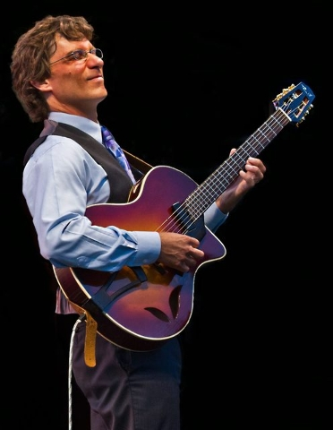 "Guitarist Frank Vignola joins the gypsy jazz lineup at Las Vegas' fifth annual ""DjangoVegas!"" concert Saturday. COURTESY CITY OF LAS VEGAS CULTURAL ARTS"