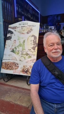 Dr. Joe Iser, head of the Southern Nevada Health District, got into a Havana, Cuba bar because he looked like writer Ernest Hemingway. (Courtesy/Gabriel and Joel Mark)