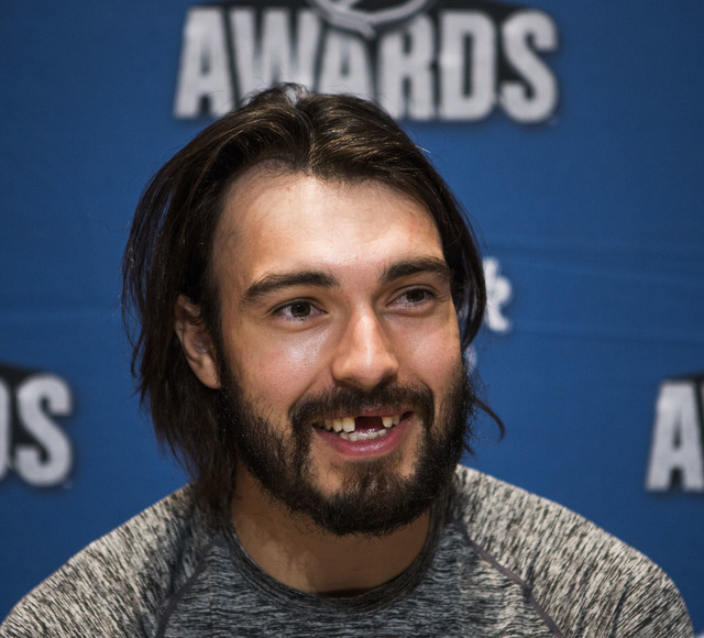 Los Angeles Kings defenseman Drew Doughty smiles during a National Hockey League press conference at the Encore on Tuesday, June 21, 2016. Jeff Scheid/Las Vegas Review-Journal Follow @jlscheid