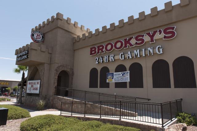 Brooksy's Bar & Grill at 9295 W. Flamingo Rd. Suite 100 in Las Vegas is seen Wednesday, June 22, 2016. Jason Ogulnik/Las Vegas Review-Journal