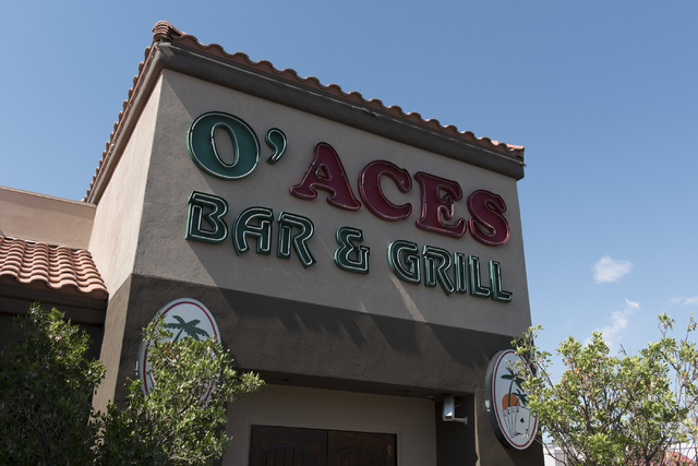 O'Aces Bar & Grill at 4955 S. Decatur Blvd. in Las Vegas is seen Wednesday, June 22, 2016. Jason Ogulnik/Las Vegas Review-Journal