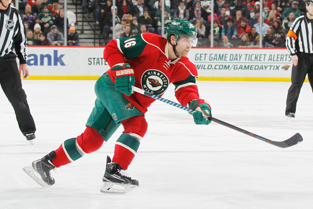 Las Vegas Jason Zucker Re Signs With Nhl S Wild Las Vegas