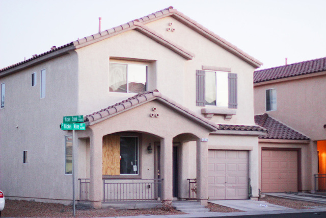 A house on the corner of Nickel Creek Trail and Nickel Mine Avenue in Las Vegas is in the foreclosure process, according to records from the county recorder's office. It was purchased in 2005.   ...