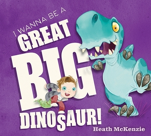 """I Wanna Be a Great Big Dinosaur"" schools kids on the benefits and drawbacks of being a dinosaur. Special to View"
